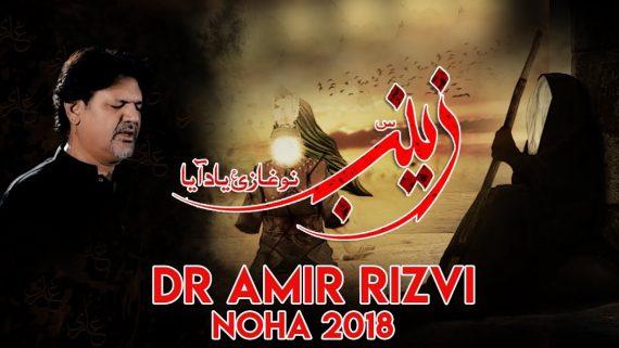 Zainab س Nu Ghazi ع Yad Aya – Dr. Amir Rizvi New Noha 2018-19 – Nohay 2019 – Sajjad Laye Mushkil